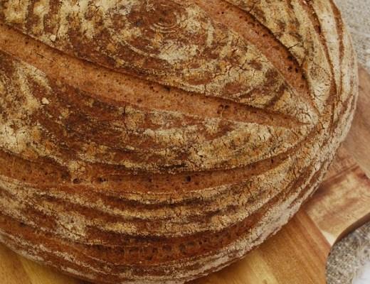 glutenfritt lantbröd