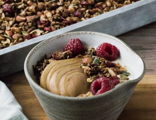 granola med lakrits och ingefära
