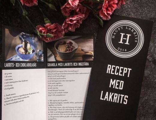 recept med lakrits