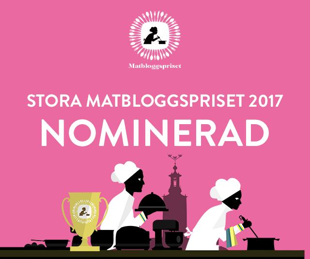 nominerad stora matbloggspriset 2017