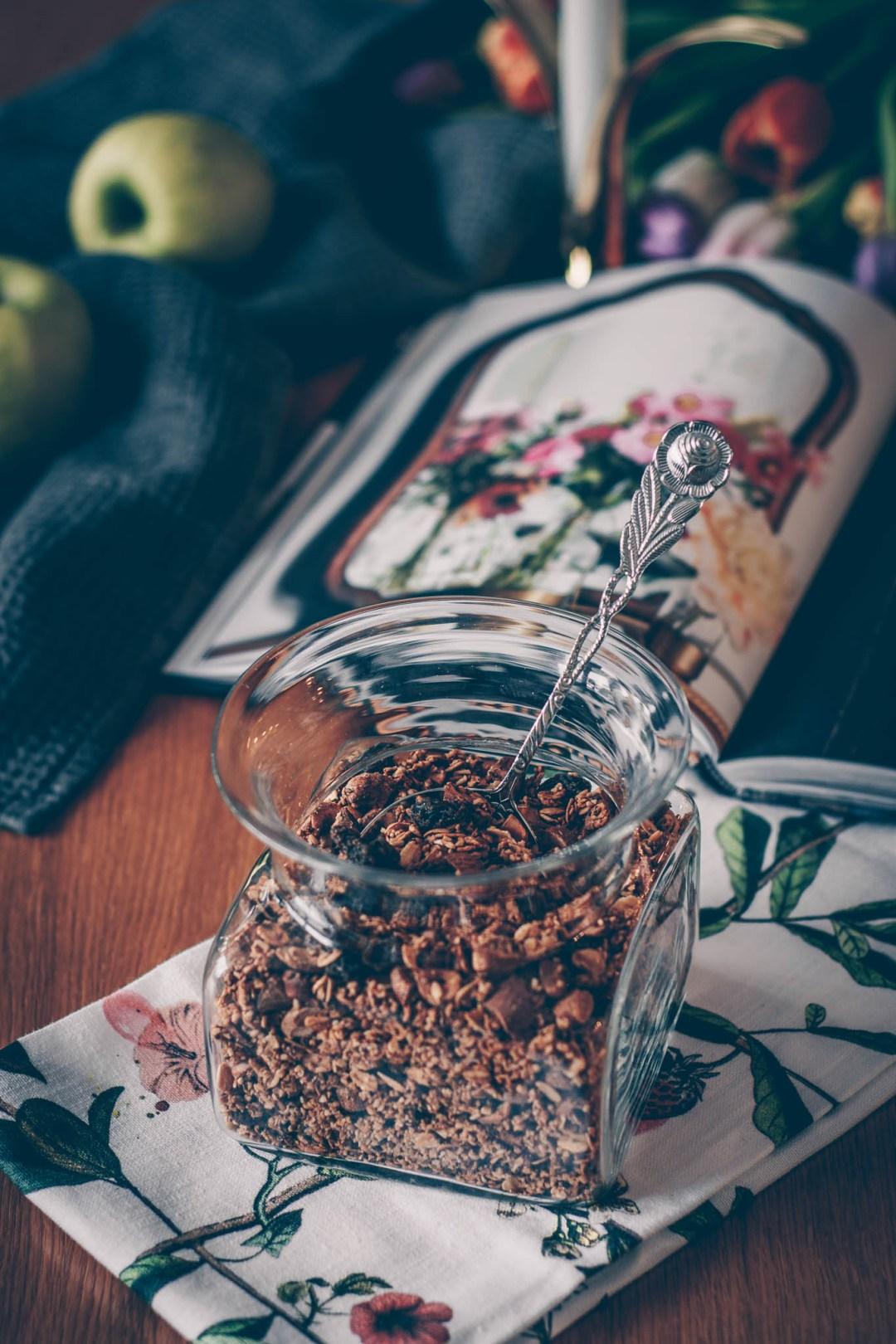 granola med havrekross steel cut oats
