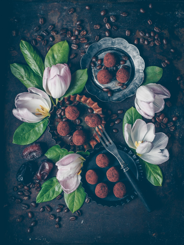 energibollar med choklad och cashewsmör