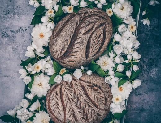 glutenfritt bröd med durra, teff och bovete