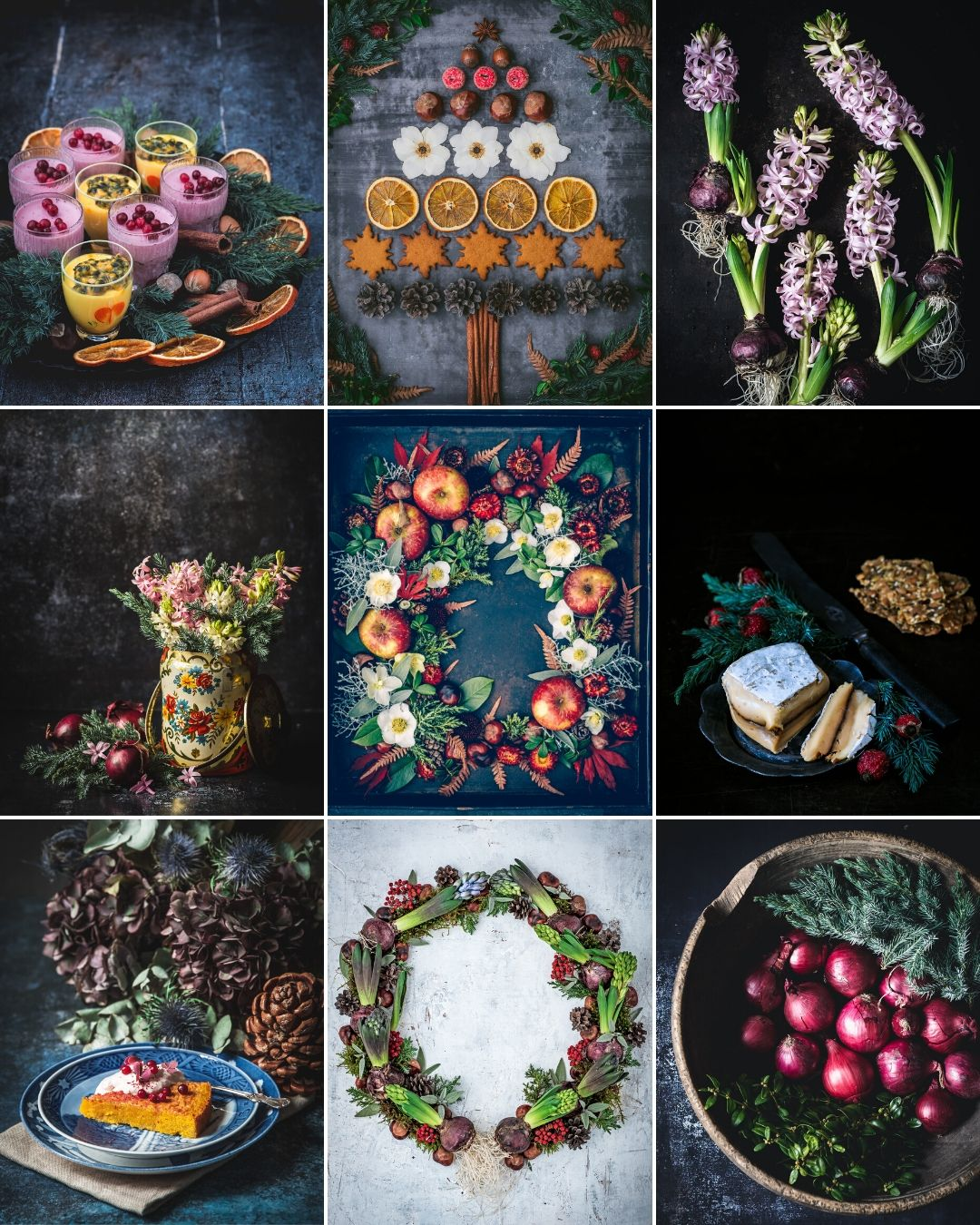 mest blomster december instagram
