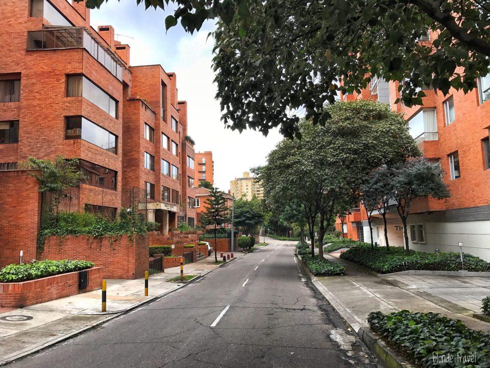 Street in Chapinero, Bogota