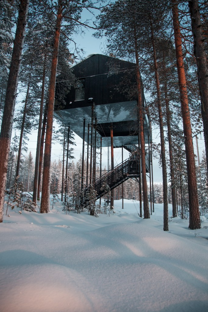 Hotel review: Treehotel, Sweden