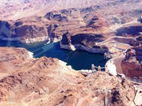 Hoover Dam attracts more than 1 million visitors a year. It is located in Black Canyon, about 35 miles outside Las Vegas.