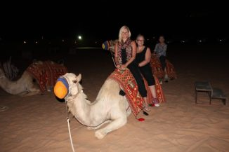 You can't visit the desert without a camel ride!