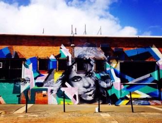 Street art in Searles Walk, off Duggan St, Toowoomba.