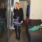What I wore: Marcs Leather Jacket and Skirt, Cotton On singlet, Witchery clutch and Nine West ankle boots.