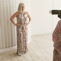 Saturday's #everydaystyle was a maxi dress from Sheike with Nine West heels and a Sussan gold bangle.