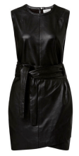 Seed Heritage Leather Wrap Dress. $599.95