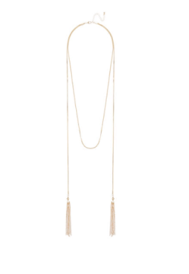 Seed Heritage Wrap Tassel Necklace