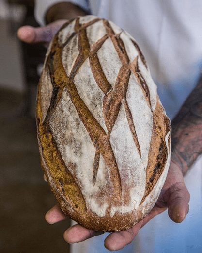 Daily bread deliveries from Brasserie Bread.