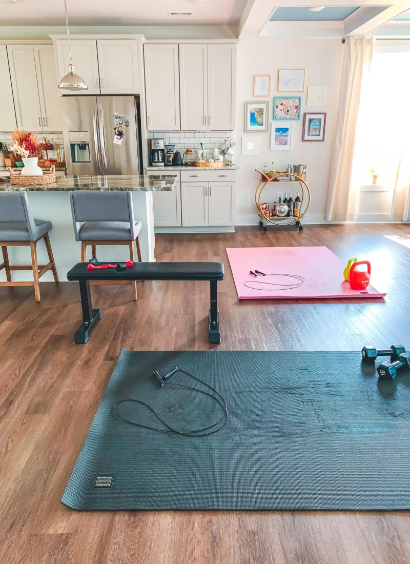 EVERYTHING YOU NEED TO WORKOUT AT HOME
