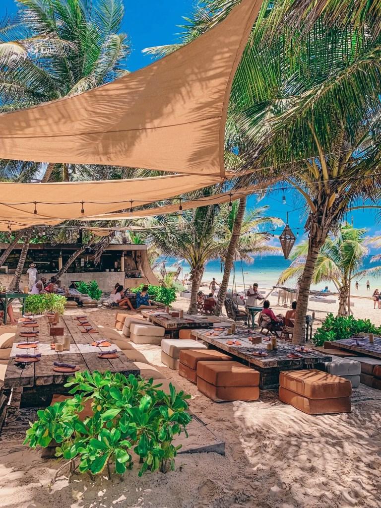 nomade tulum beach restaurant
