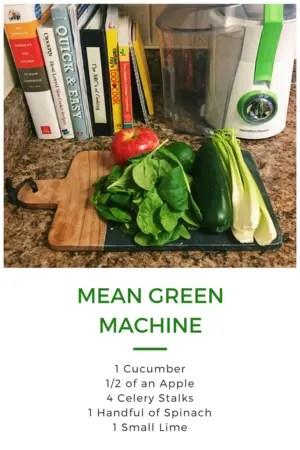 Mean green machine recipe