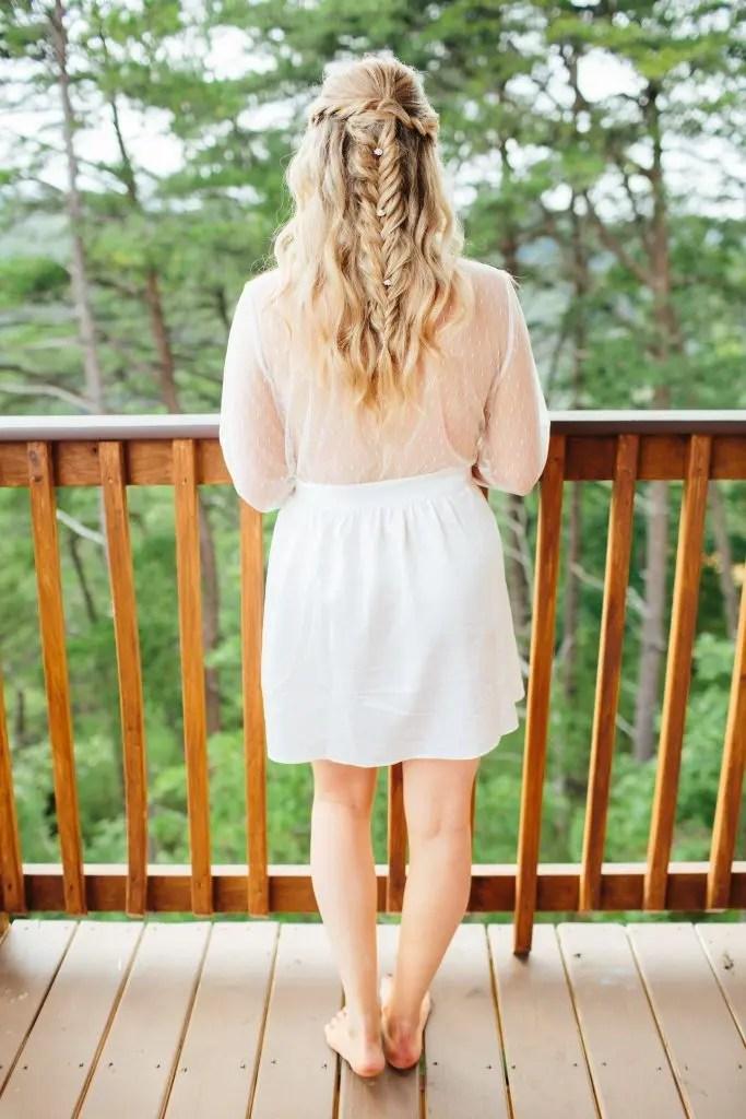 wedding day robe
