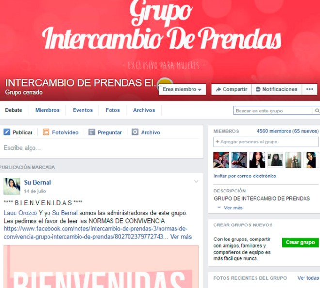 intercambio de ropa Colombia - danielastyling - intercambio de prendas facebook