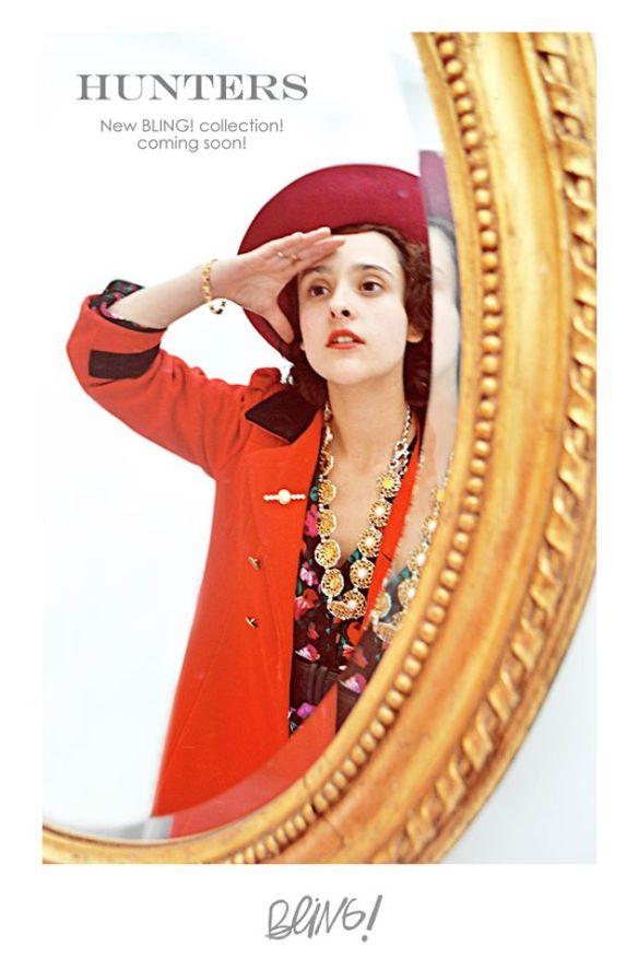 vintage look - danielastyling - vintage colombia bling bling trash