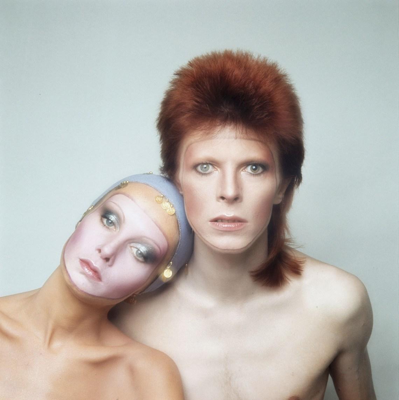 Twiggy y David Bowie - album pin ups - danielastyling - blog de moda