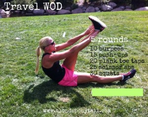 Travel Body Weight WOD