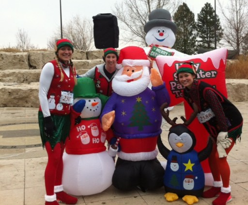 Ugly Sweater 5k_Griswald yard_2