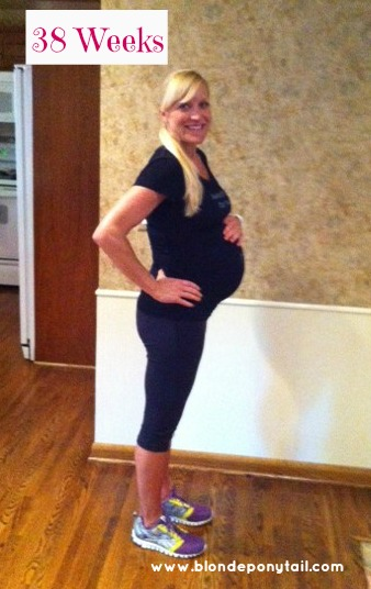 what do contractions feel like at 38 weeks