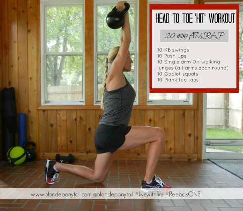 Head to toe HIT workout
