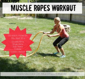 Muscle Ropes and a New Workout