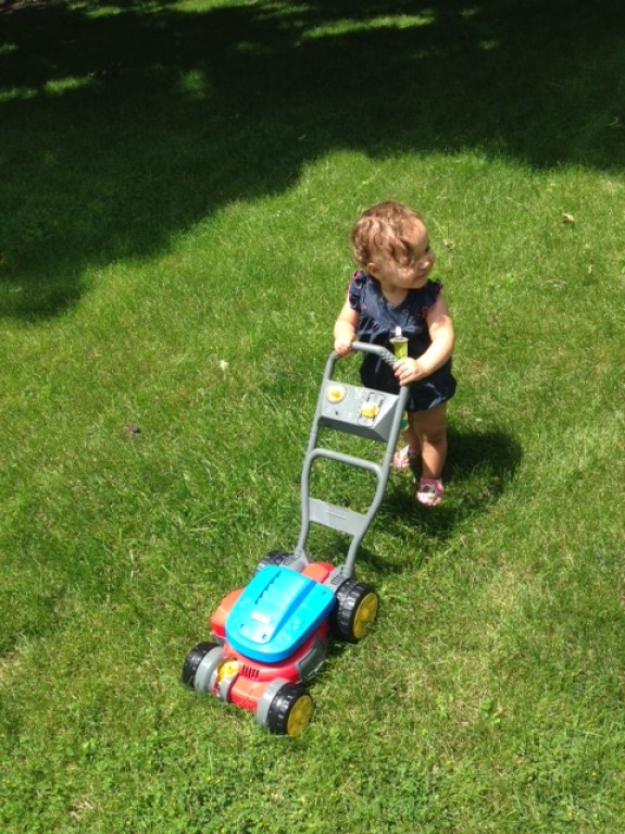 Fisher Price Mower