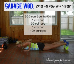 Garage Workout for a Hero