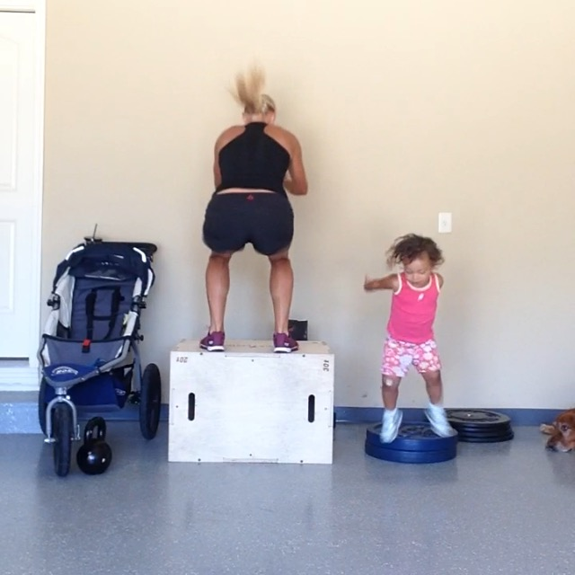 Box Jumps_CrossFit Kids
