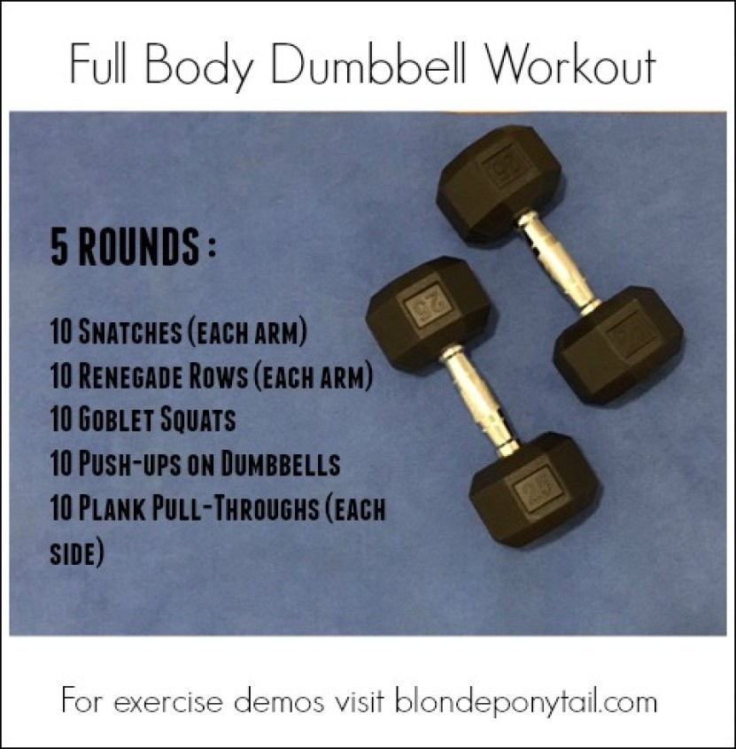 Full Body Dumbbell Workout