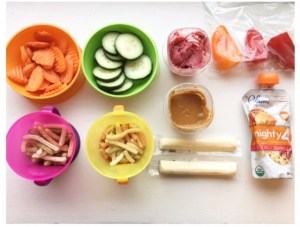 Tips for Eating Healthy with Kids On the Go