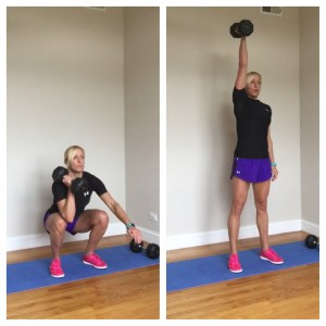 Total Body Push-Pull Dumbbell Workout