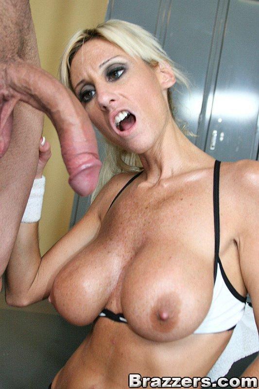 Big Tits Blonde German Solo