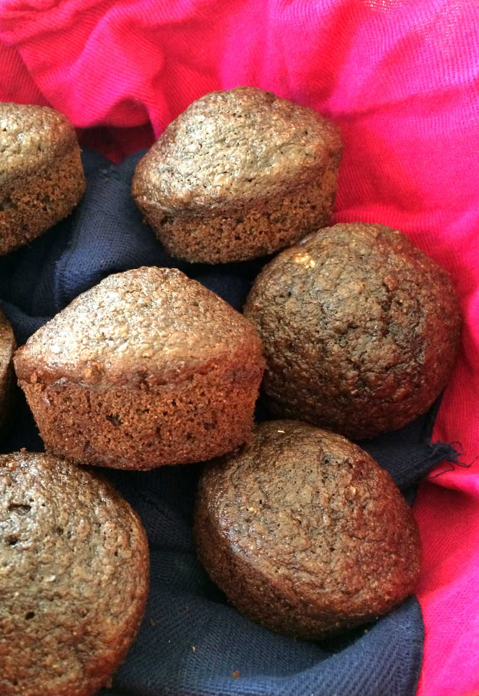 Chocolate Flax Muffins | Run Now, Wine Later