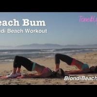 Blondi Beach Workout: Beach Bum