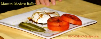 Heirloom Tomatos and Mozzarella