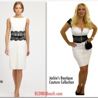 Blondi Look For Less: Lace Cocktail Dress