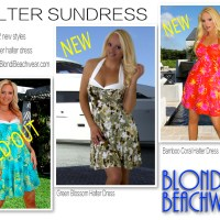 {New Arrival} Print Halter Sundresses for Summer
