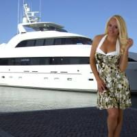 {Blondi Style Diary} Enjoying Florida's Intercoastal Waterway with the Green Blossom Halter Sundress
