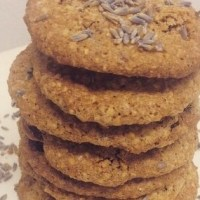 Oh La Lavender Oatmeal Cookies by Dahlia Mayerson