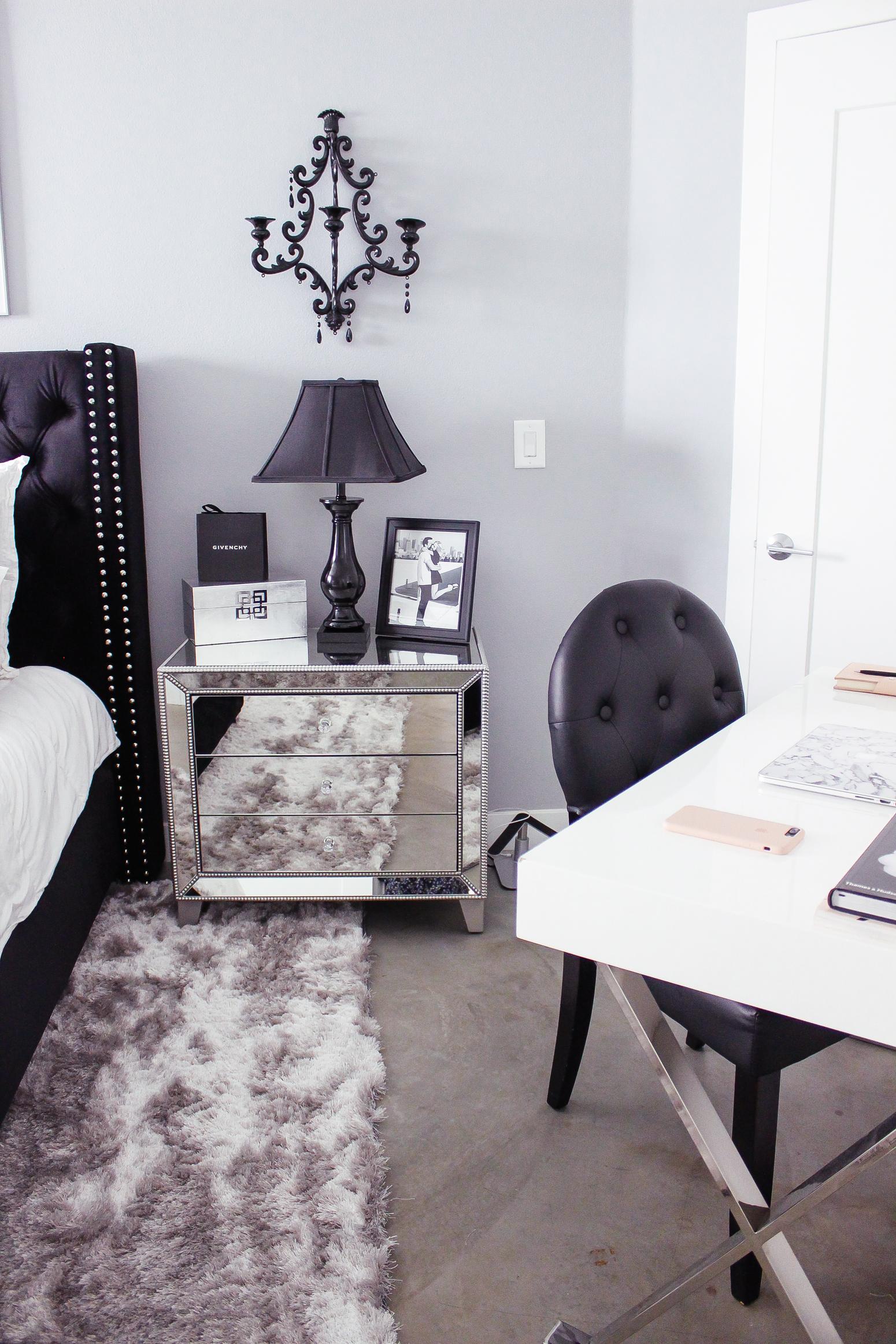 Black Amp White Bedroom Decor Reveal