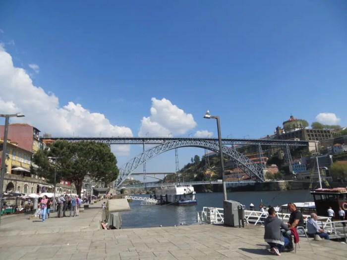 Luís I Bridge in Porto.