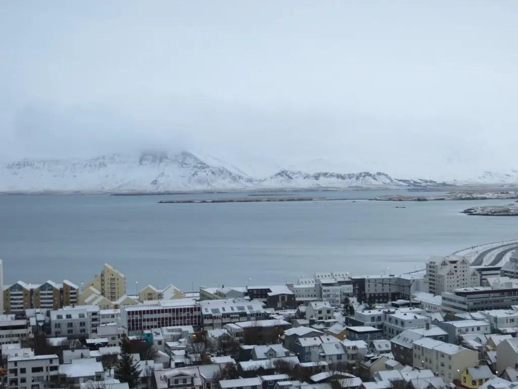 celebrating New Year's Eve in Reyjakvik