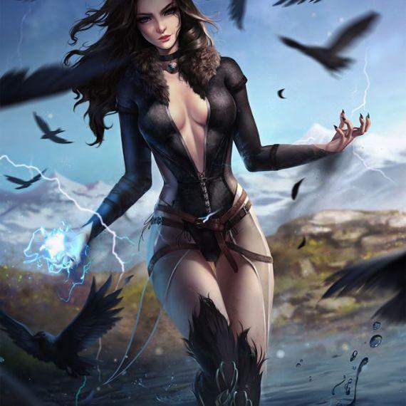 Witch - digital art