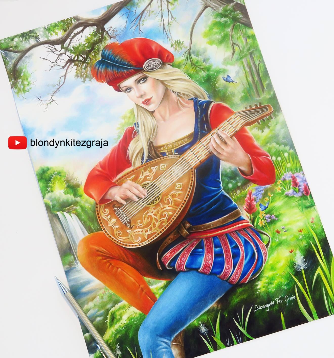 Priscilla drawing by Blondynki Też Grają - Witcher 3 art