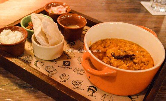 Butter Chicken Khichdi